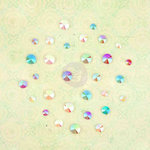 Prima - Royal Menagerie Collection - Say It In Crystals with Sequins - Self Adhesive Jewels