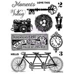 Prima - Royal Menagerie Collection - Clear Acrylic Stamps - One