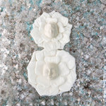 Prima - Resin Embellishments - Faces - Patty