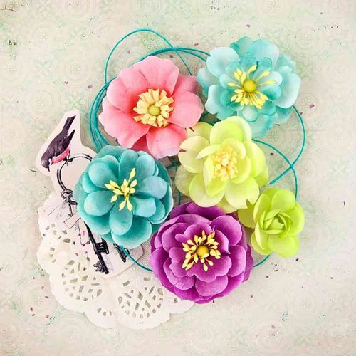 Prima - Royal Menagerie Collection - Flower Embellishments - Mary