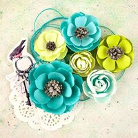 Prima - Royal Menagerie Collection - Flower Embellishments - Louise