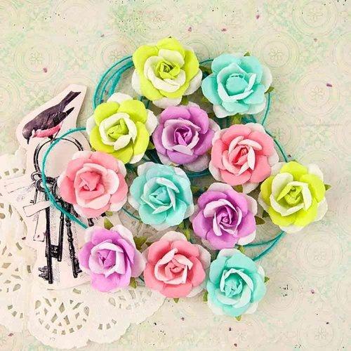 Prima - Royal Menagerie Collection - Flower Embellishments - Caroline