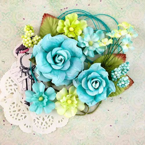 Prima - Royal Menagerie Collection - Flower Embellishments - Diana