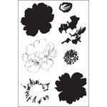 Prima - Ink N Layer Stamps - Bayou Flora