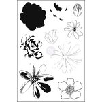 Prima - Ink N Layer Stamps - Glorious Flora