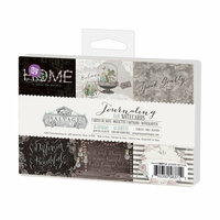 Prima - Salvage District Collection - 4 x 6 Journaling Cards