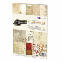 Prima - Vintage Emporium Collection - A4 Collection Kit