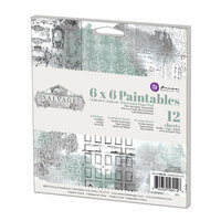 Prima - Salvage District Collection - 6 x 6 Paintables Pad