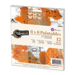Prima - Vintage Emporium Collection - 6 x 6 Paintables Pad