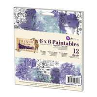 Prima - French Riviera Collection - 6 x 6 Paintables Pad