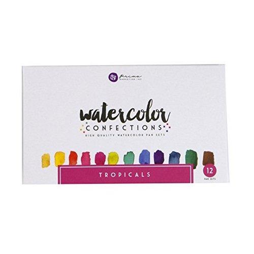 Prima - Watercolor Confections - Tropicals