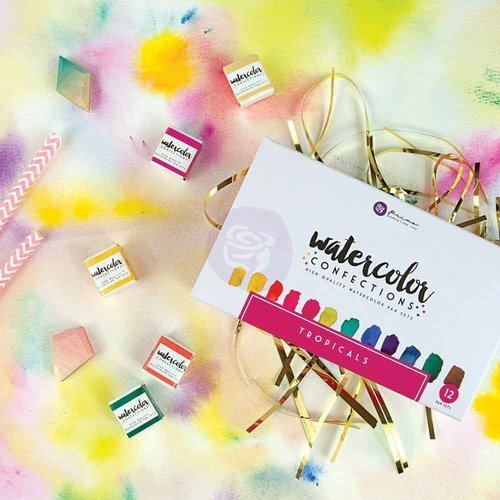 Prima Marketing Tropicals Watercolors