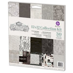 Prima - Salvage District Collection - 12 x 12 Collection Kit