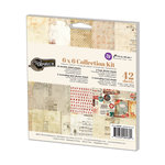 Prima - Vintage Emporium Collection - 6 x 6 Collection Kit