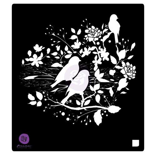 Prima - Stencil Mask - 6 x 6 - Birdy Nest