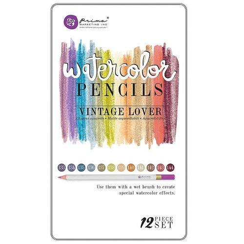 Prima - Mixed Media - Watercolor Pencils - Vintage Lover