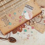 Prima - Vintage Emporium Collection - Say It In Crystals - Self Adhesive Jewels