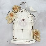 Prima - Frameworks - Birdcage Large - Antique White