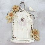 Prima - Frameworks - Birdcage Large - Antique White