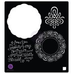Prima - Vintage Emporium Collection - Stencil Mask - 6 x 6 - Doily