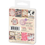 Prima - Rossibelle Collection - 3 x 4 Journaling Cards