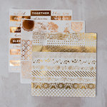 Prima - Foil Washi Stickers - Grand Restoration