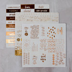 Prima - Foil Washi Stickers - Coffee Break 2