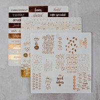Prima - Foil Washi Stickers - Coffee Break 2