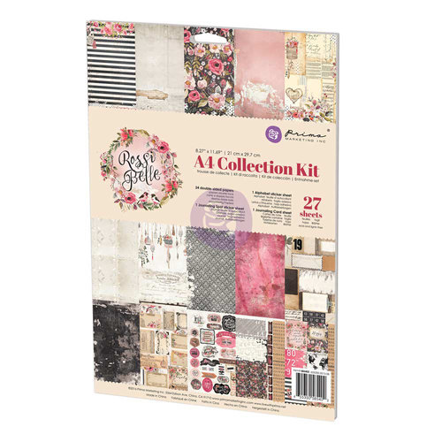 Prima - Rossibelle Collection - A4 Collection Kit