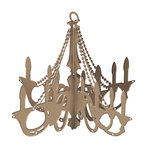 Prima - DIY - Wooden Chandelier - Traditional