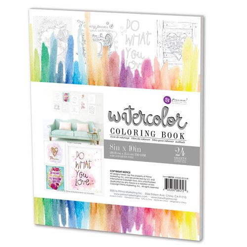 Prima - Watercolor Coloring Book