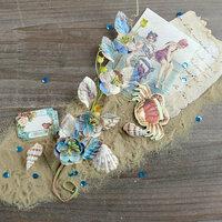Prima - French Riviera Collection - Flower Embellishments - Plage de la Bouillabaisse