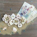 Prima - French Riviera Collection - Flower Embellishments - La Mer