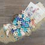 Prima - French Riviera Collection - Flower Embellishments - Plages du Prado