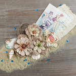 Prima - French Riviera Collection - Flower Embellishments - Boulevard de la Croisette