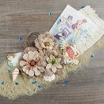 Prima - French Riviera Collection - Flower Embellishments - Boulevard de la Croisette