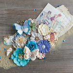 Prima - French Riviera Collection - Flower Embellishments - Côte d'Azur