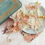 Prima - Tales of You and Me Collection - Flower Embellishments - Je t'aime