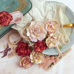 Prima - Tales of You and Me Collection - Flower Embellishments - Moi aussi, Je t'aime