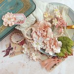 Prima - Tales of You and Me Collection - Flower Embellishments - Amour de Ma Vie