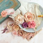 Prima - Tales of You and Me Collection - Flower Embellishments - Je Suis Amoureuse
