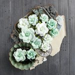 Prima - Salvage District Collection - Flower Embellishments - Grand Garden