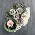 Prima - Salvage District Collection - Flower Embellishments - Trianon
