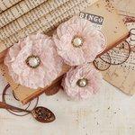 Prima - Vintage Emporium Collection - Flower Embellishments - Maestro