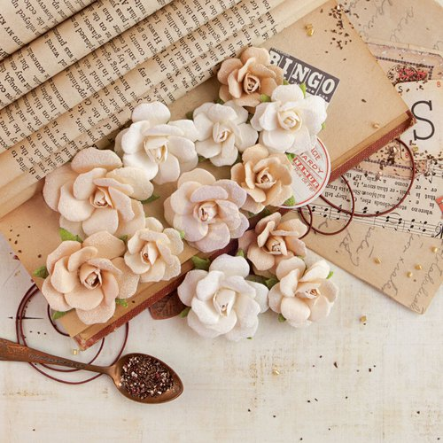 Prima - Vintage Emporium Collection - Flower Embellishments - Verona