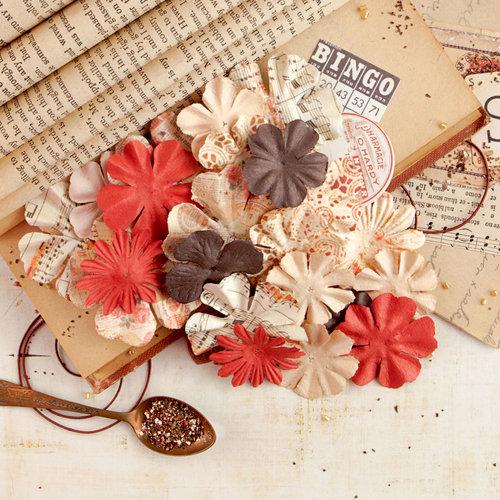 Prima - Vintage Emporium Collection - Flower Embellishments - Place de la Bourse