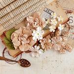 Prima - Vintage Emporium Collection - Flower Embellishments - Allegra