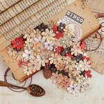 Prima - Vintage Emporium Collection - Flower Embellishments - Libretto
