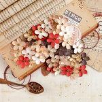 Prima - Vintage Emporium Collection - Flower Embellishments - Operetta