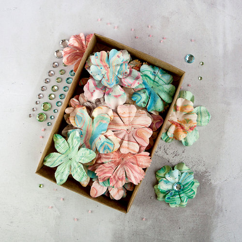 Prima - Flower Embellishments - Box - Mélange